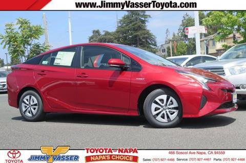 2017 Toyota Prius for sale in Napa, CA
