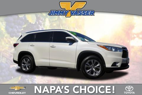 2014 Toyota Highlander for sale in Napa, CA