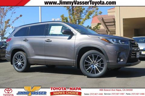 2017 Toyota Highlander for sale in Napa, CA