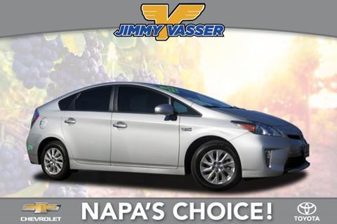 2015 Toyota Prius Plug-in Hybrid for sale in Napa, CA