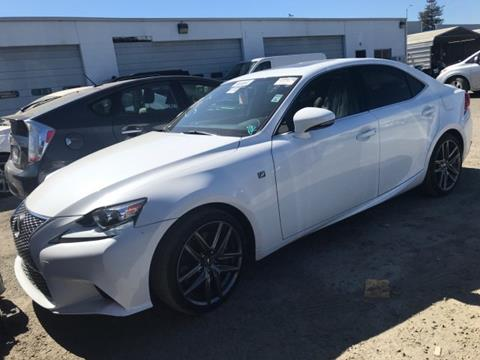 2014 Lexus IS 350 for sale in Napa, CA
