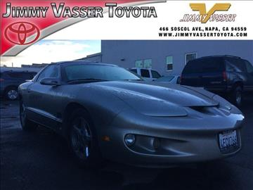 1999 Pontiac Firebird for sale in Napa, CA