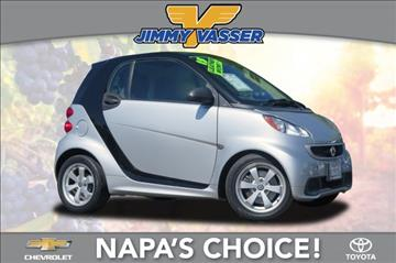 2013 Smart fortwo for sale in Napa, CA