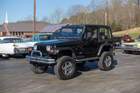 1997 Jeep Wrangler for sale in Dongola, IL