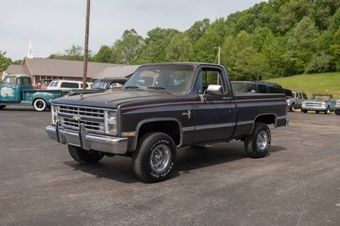 Chevy Scottsdale Lifted Stepside