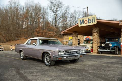 1966 Chevrolet Impala for sale at Curts Classics in Dongola IL