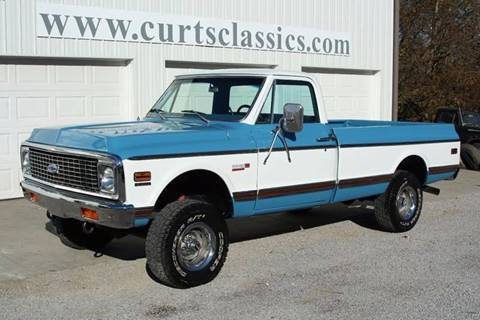 1971 Chevrolet C/K 10 Series for sale at Curts Classics in Dongola IL