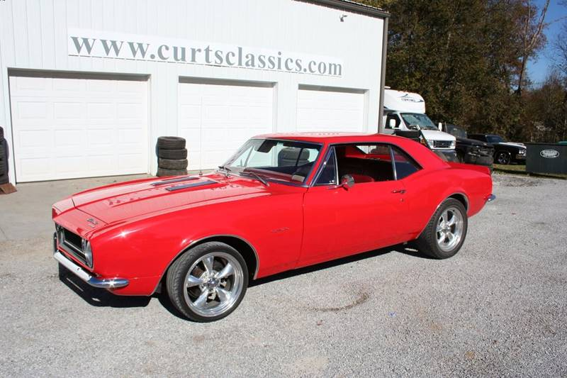 1967 Chevrolet Camaro for sale at Curts Classics in Dongola IL