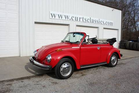 1978 Volkswagen Super Beetle for sale at Curts Classics in Dongola IL