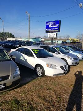 used 2008 pontiac g6 for sale in north carolina