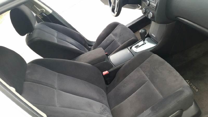 2007 Nissan Altima 25 S 4dr Sedan 25l I4 Cvt In St Cloud Fl