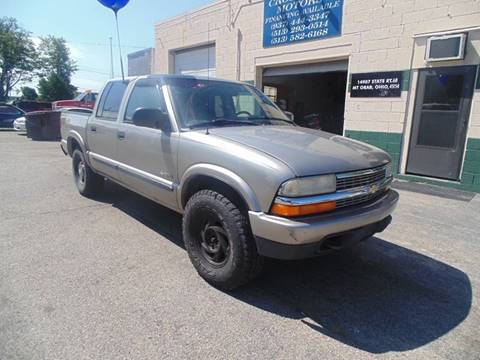 2004 Chevrolet S-10 for sale in Mount Orab, OH