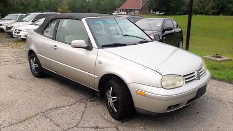 2001 Volkswagen Cabrio for sale in Mount Orab, OH