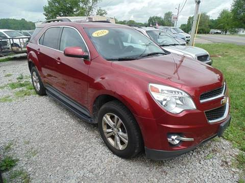 2010 Chevrolet Equinox for sale in Mount Orab OH