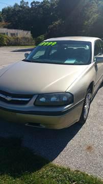 2005 Chevrolet Impala for sale in Muskegon MI