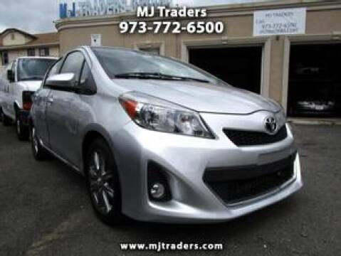 2012 Toyota Yaris for sale at M J Traders Ltd. in Garfield NJ