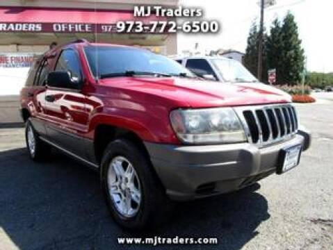 2002 Jeep Grand Cherokee for sale at M J Traders Ltd. in Garfield NJ