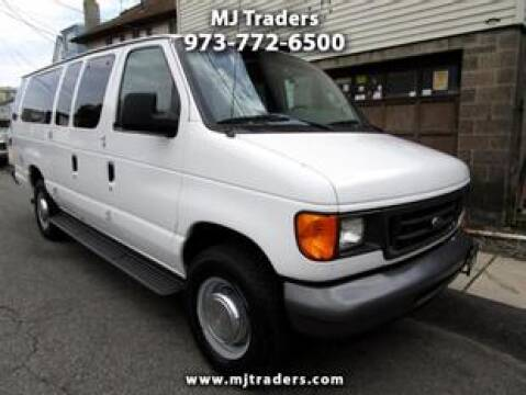 2006 Ford E-Series Wagon for sale at M J Traders Ltd. in Garfield NJ