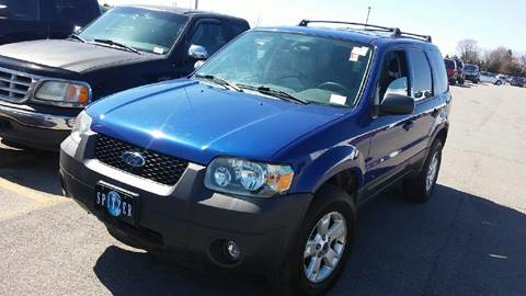 used 2006 ford escape for sale in michigan. Black Bedroom Furniture Sets. Home Design Ideas