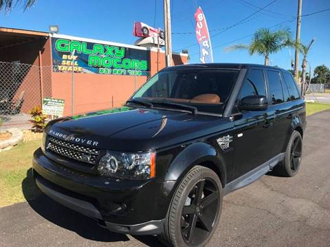 2012 Land Rover Range Rover Sport for sale at Galaxy Motors Inc in Melbourne FL