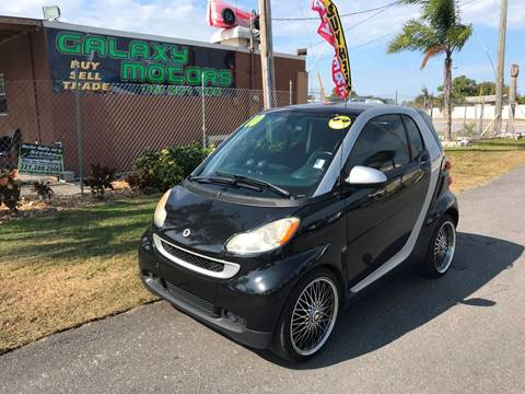 2010 Smart fortwo for sale at Galaxy Motors Inc in Melbourne FL