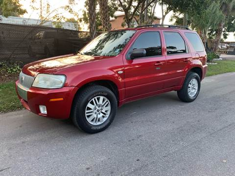 2007 Mercury Mariner for sale at Galaxy Motors Inc in Melbourne FL