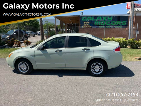 2011 Ford Focus for sale at Galaxy Motors Inc in Melbourne FL