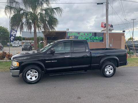2002 Dodge Ram Pickup 1500 for sale at Galaxy Motors Inc in Melbourne FL
