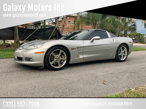 2008 Chevrolet Corvette for sale at Galaxy Motors Inc in Melbourne FL