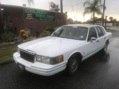 Lincoln Town Car For Sale In Melbourne Fl Galaxy Motors Inc