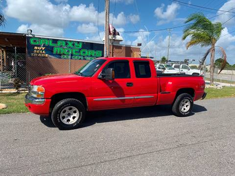 2003 GMC Sierra 1500 for sale at Galaxy Motors Inc in Melbourne FL