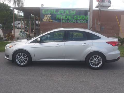 2015 Ford Focus for sale at Galaxy Motors Inc in Melbourne FL
