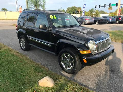 2006 Jeep Liberty Limited for sale at Galaxy Motors Inc in Melbourne FL