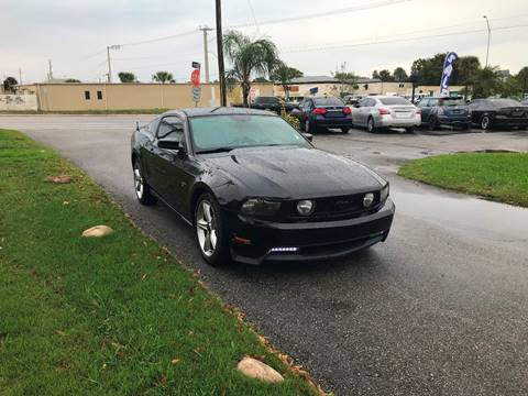 2010 Ford Mustang GT Premium for sale at Galaxy Motors Inc in Melbourne FL