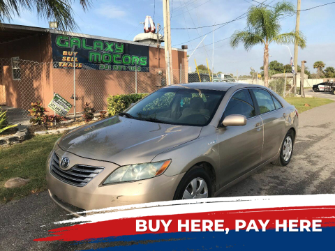 2009 Toyota Camry Hybrid for sale at Galaxy Motors Inc in Melbourne FL