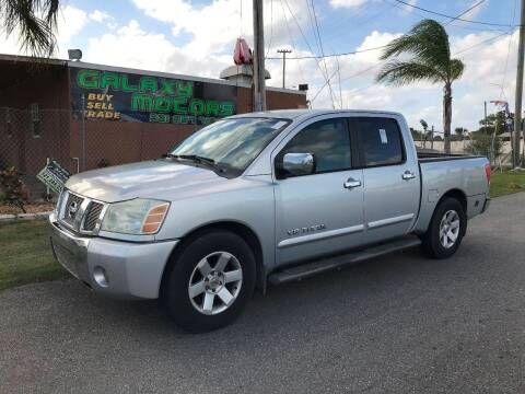 2005 Nissan Titan LE for sale at Galaxy Motors Inc in Melbourne FL