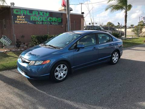 2007 Honda Civic Hybrid for sale at Galaxy Motors Inc in Melbourne FL