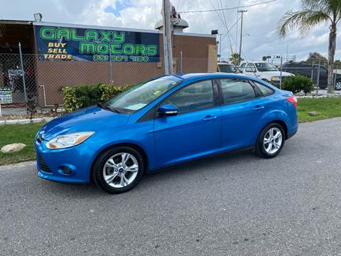 2014 Ford Focus for sale at Galaxy Motors Inc in Melbourne FL
