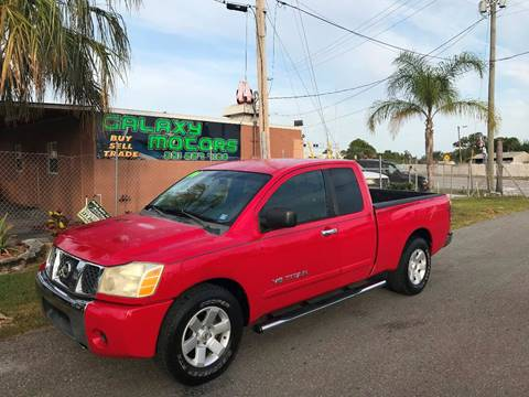 2006 Nissan Titan for sale at Galaxy Motors Inc in Melbourne FL