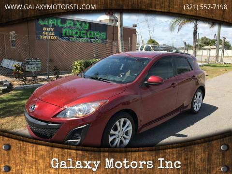2011 Mazda MAZDA3 for sale at Galaxy Motors Inc in Melbourne FL