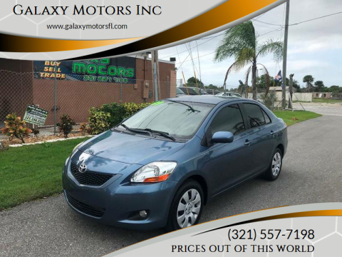 2009 Toyota Yaris for sale at Galaxy Motors Inc in Melbourne FL