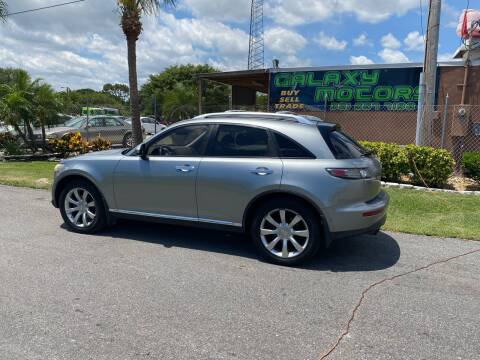 2007 Infiniti FX35 for sale at Galaxy Motors Inc in Melbourne FL