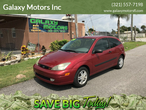 2004 Ford Focus for sale at Galaxy Motors Inc in Melbourne FL