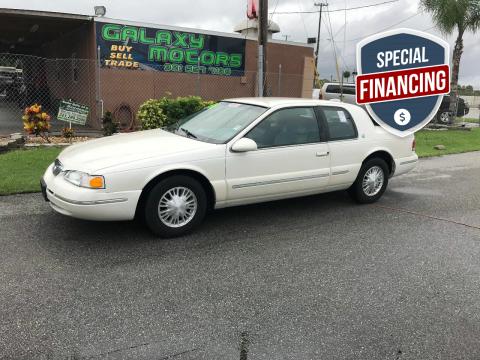 1996 Mercury Cougar for sale at Galaxy Motors Inc in Melbourne FL