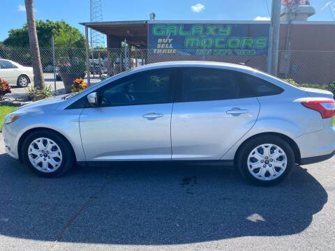 2012 Ford Focus for sale at Galaxy Motors Inc in Melbourne FL