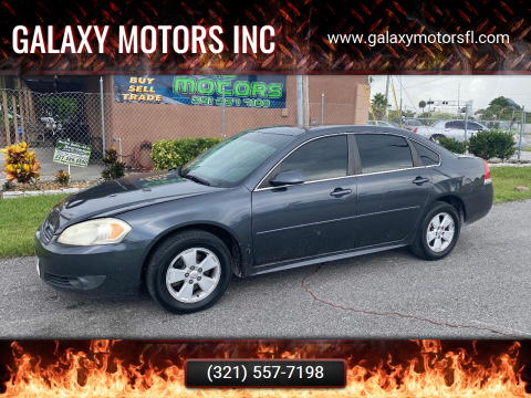 2011 Chevrolet Impala for sale at Galaxy Motors Inc in Melbourne FL