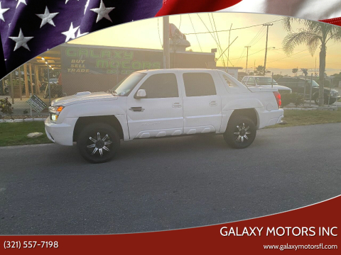 2002 Chevrolet Avalanche for sale at Galaxy Motors Inc in Melbourne FL