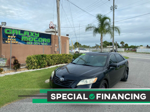 2009 Toyota Camry for sale at Galaxy Motors Inc in Melbourne FL