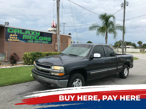 1999 Chevrolet Silverado 1500 for sale at Galaxy Motors Inc in Melbourne FL