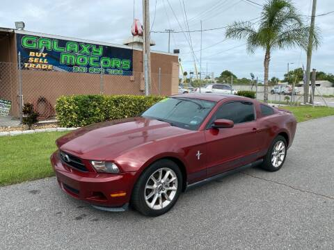 2010 Ford Mustang for sale at Galaxy Motors Inc in Melbourne FL